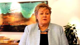 Erna Solberg's message to the Norway 203040 Coalition