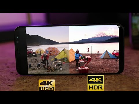 4k HDR on the Galaxy S8 | Is there any difference ?