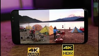 To download the 4k hdr test footage for your galaxy s8 or other compatible device, click here: https://goo.gl/1q02o8 here (mirror) http://demo-uhd3d.c...