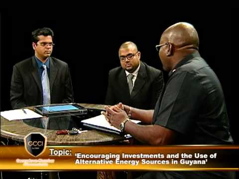 Encouraging Investments and The Use of Alternative Energy Sources In Guyana