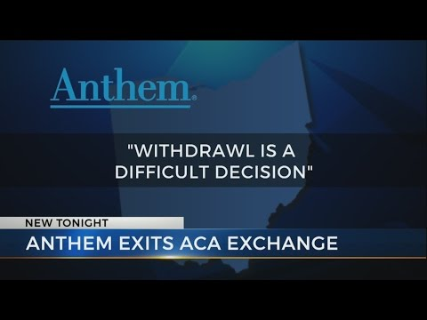 Anthem no longer selling health insurance in Ohio