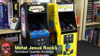 Galaga & Pac-Man Quarter Scale Arcades - First Impressions