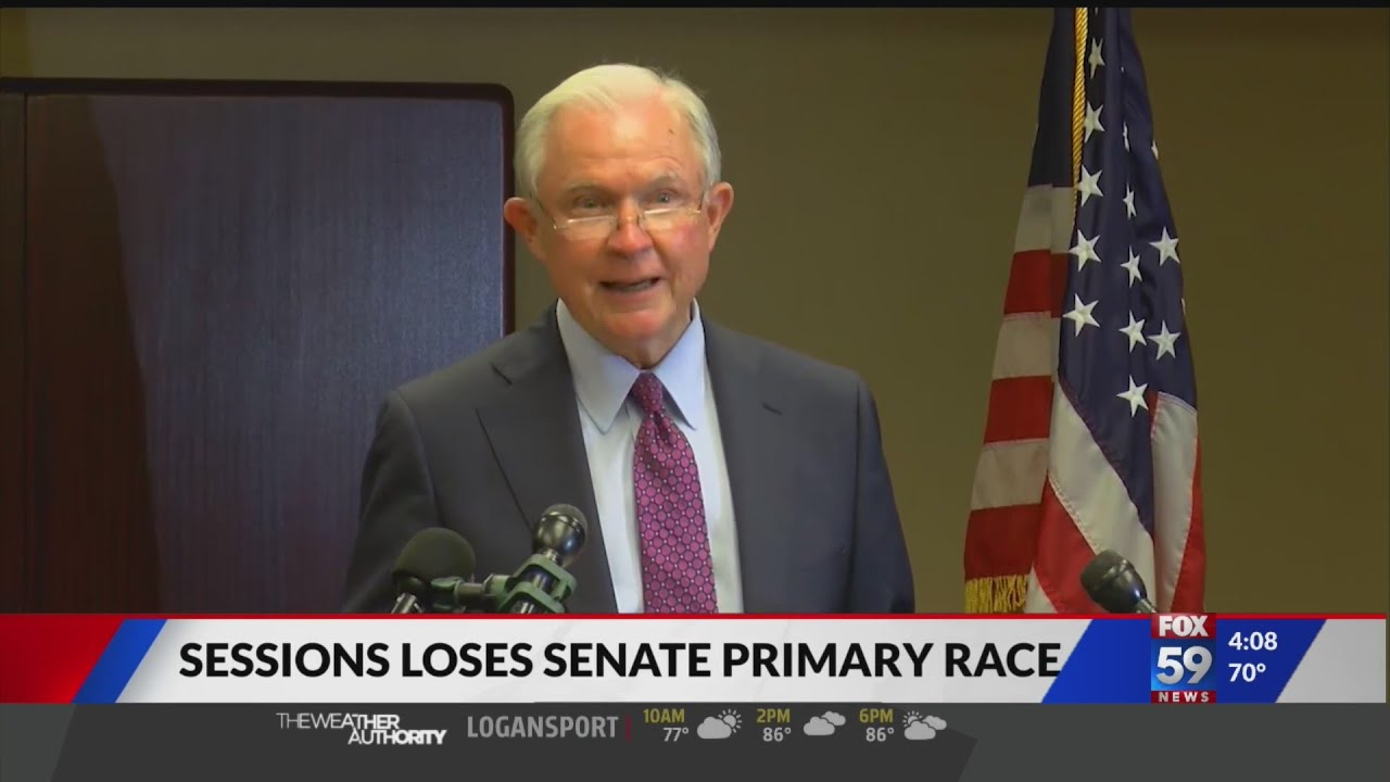 Jeff Sessions loses GOP nomination for his old Alabama Senate seat