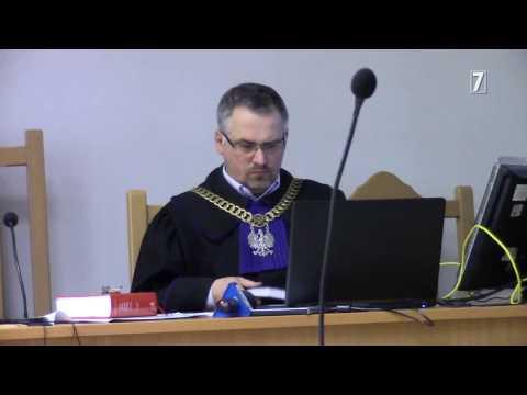 Ciąg dalszy procesu niezależnego dziennikarza Józefa Wieczorka