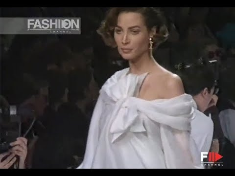 CHRISTIAN DIOR Fall 1991/1992 Paris - Fashion Channel
