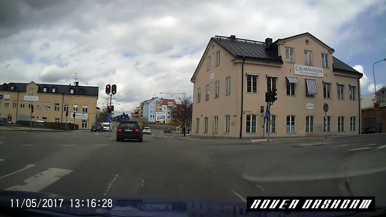 rover dashcam 2 driving through town hd youtube. Black Bedroom Furniture Sets. Home Design Ideas