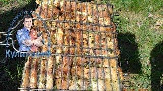 Как приготовить филе пангасиуса(морского сома) на гриле