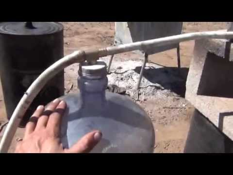 "Teslonian Man Show! Make ""GAS"" from Wood""! Part 1"