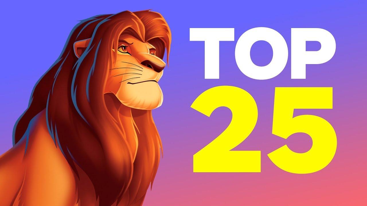 Top 25 Best Disney Animated Movies