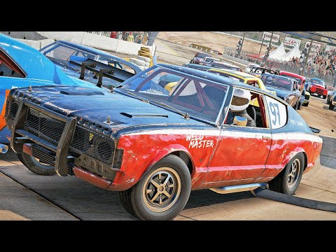 Multiplayer DEATHLOOP Racing Is INSANE! Crazy Crashes! – Wreckfest Multiplayer w/Camodo