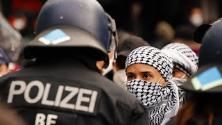 Anti-Israel-Demonstration in Berlin