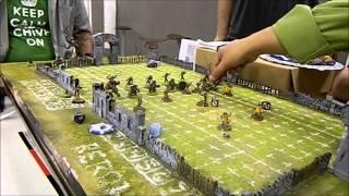 Blood Bowl: Skaven vs Chaos Dwarves