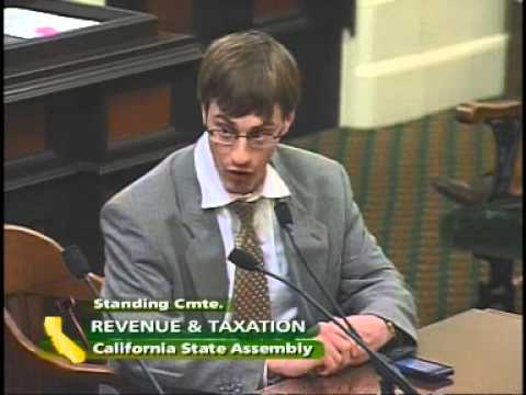 Assembly Revenue and Taxation Committee 2/2 3/12/2012