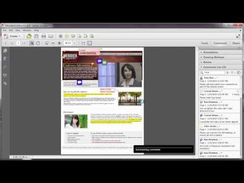Printing In Acrobat X: Printing Comments | Adobe Document Cloud