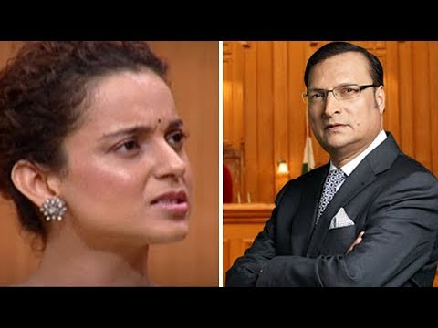 Kangana Ranaut SHOCKING REACTION On Rajat Sharma Interview About Hrithik Roshan, Karan Johar