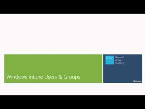 04 - Windows Intune for IT Professionals - Administrator Roles, Users, and Groups