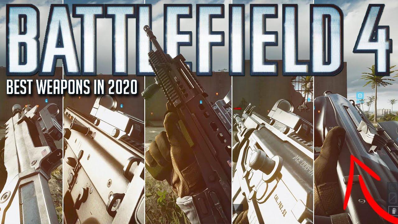 The BEST ASSAULT RIFLES in Battlefield 4 (late 2020 guide)