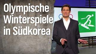 Christian Ehring: Olympische Winterspiele in Südkorea