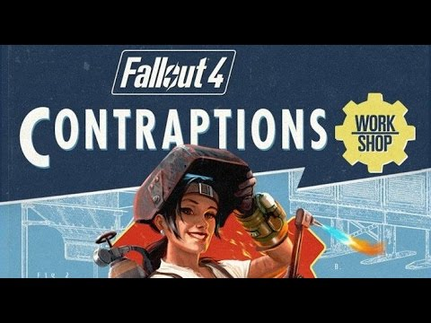 Live Fallout Contraptions DLC with Aaron and Emre - GameSocietyPimps