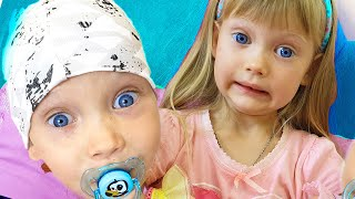 NastyaPlay found a boy doll and pretends to be a parent - Trailer