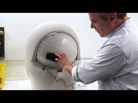 Litter-Robot Open Air: Internal Shield Position