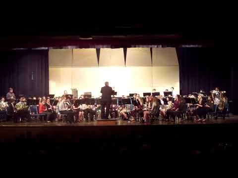 Dexter Park Celebration | BMHS End of Winter Concert 2019 | Symphonic Band