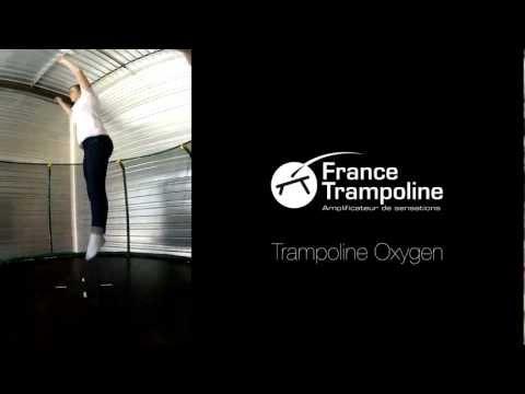 Sauts sur le trampoline Oxygen - France Trampoline