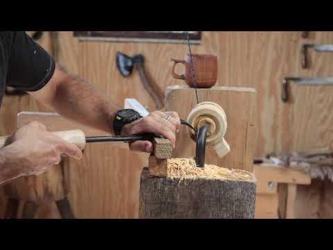 Making a Wooden Mug
