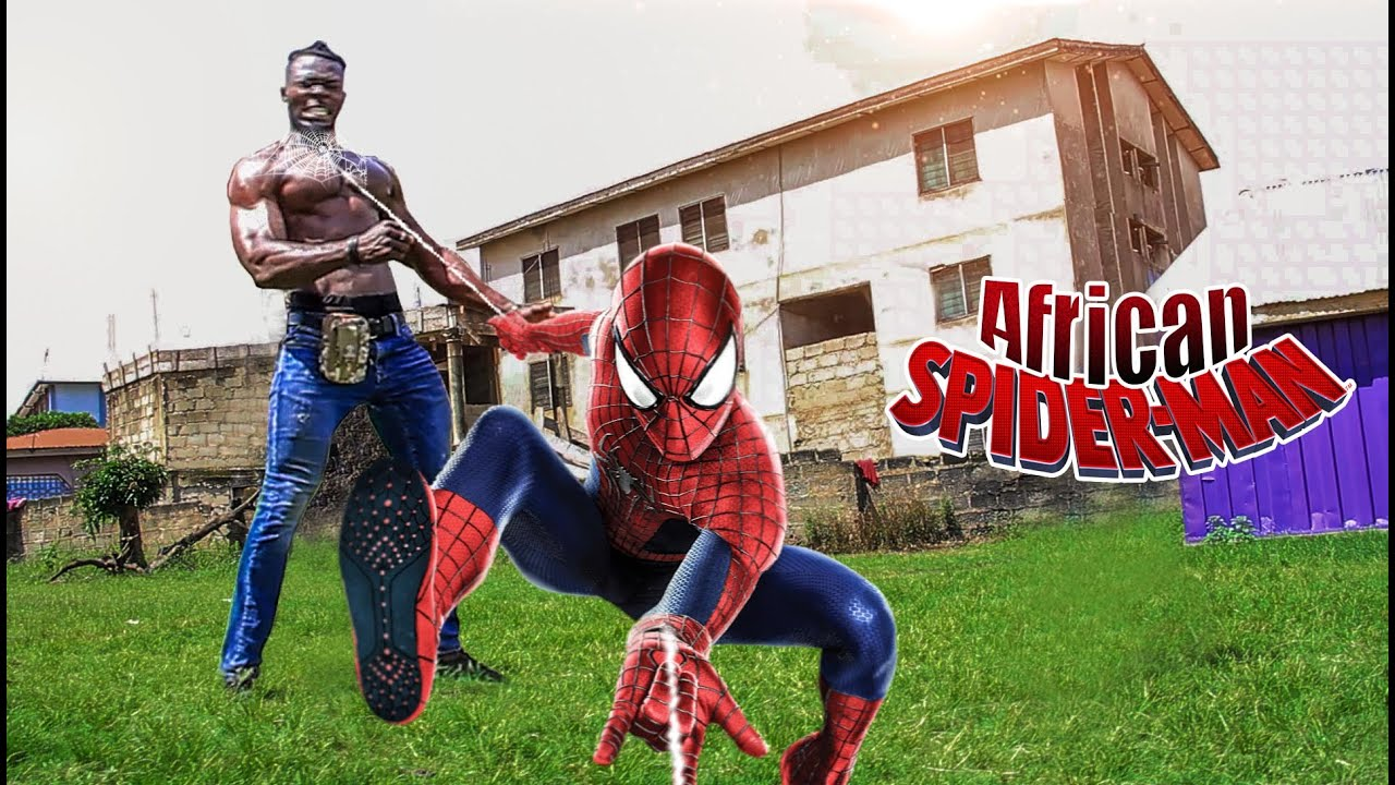 LATEST SPIDER-MAN AFRICA, HOT ACTION FUNNY SHORT FILM -Africa got talent