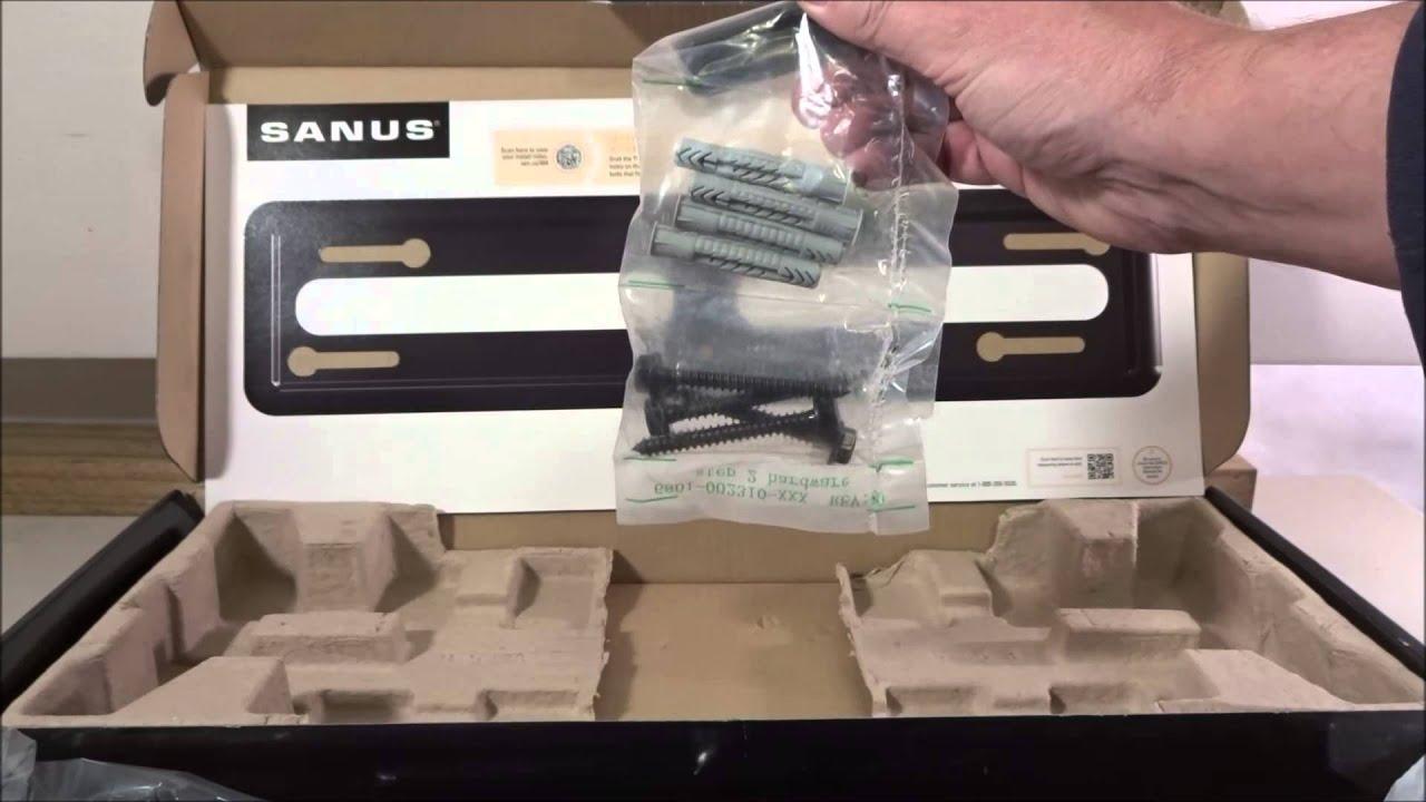 Sanus VML5 B1 Fixed TV Wall mount review