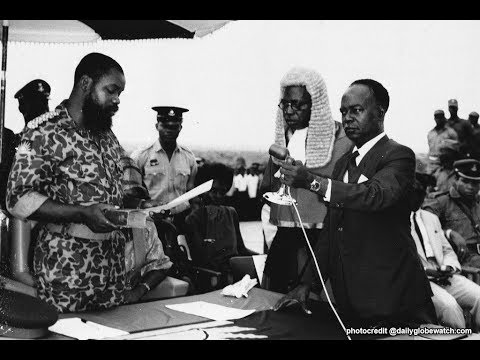 OJUKWU DECLARES REPUBLIC OF BIAFRA INDEPENDENT