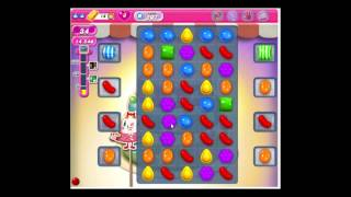 Candy Crush Saga level 207 NO BOOSTERS
