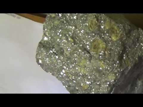 Silver Ore From Idaho