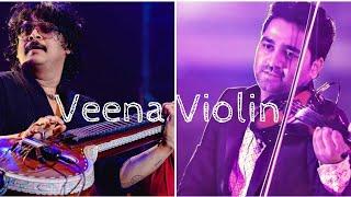 Veena Voilin Duo   Rajhesh Vaidhya & Abhijith PS Nair