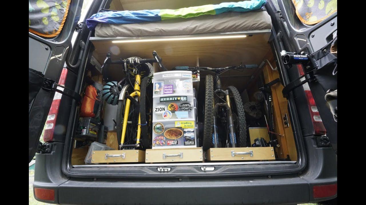 Sprinter Campervan Gear Garage Overview