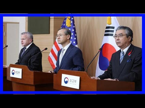 Japan, us, south korea agree to add pressure on pyongyang- nikkei asian review - TV ANNI
