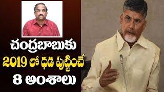 చంద్రబాబుకు 2019 లో ధడ పుట్టించే 8 అంశాలు Chandrababu Naidu