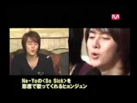 SS501 Hyung Joon singing So Sick by ne-yo