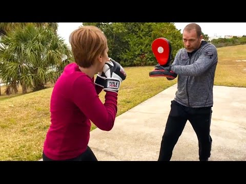 Boxing Secret Holding Pads This Way—Core JKD