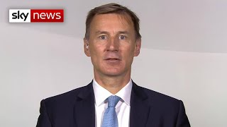 Hunt: We are now in the 'delay' stage of coronavirus