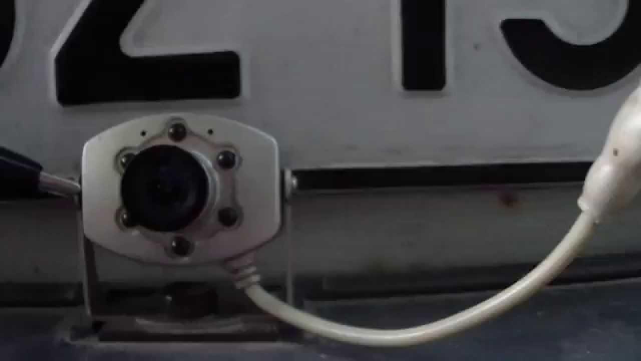 Как из веб-камеры сделать камеру заднего вида