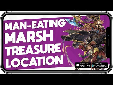 Another Eden -  Man Eating Marsh Treasure Chest Location