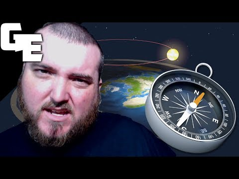 Flat Earth Comments, Flat Earth Hippie Explains How A Compass works || Flat Earth Friday