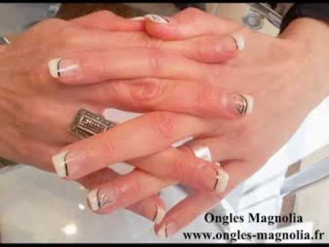 ongles magnolia janvier 2014 youtube. Black Bedroom Furniture Sets. Home Design Ideas