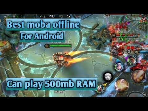 Best Moba Offline Games 5v5 For Android | Can Play In 500mb RAM