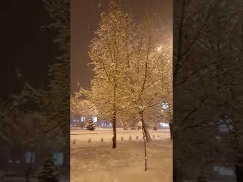 Snow Storm -  Skopje