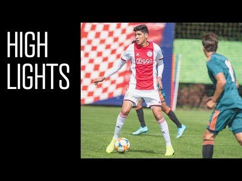Highlights Ajax - Ajax | Oefenduel