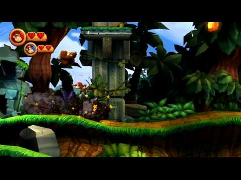 Donkey Kong Country Returns (Co-op) #01: They're Stealing Our Nanners!