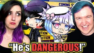 SCOTT IS DANGEROUS!! | Funny Gacha Life Story Reaction