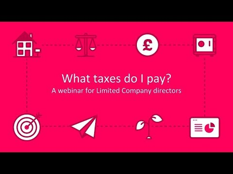 What Taxes Do Limited Company Directors Pay? | Crunch Webinar